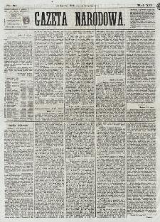 Gazeta Narodowa. R. 12, nr 81 (2 kwietnia 1873)