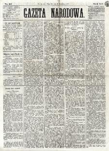 Gazeta Narodowa. R. 12, nr 82 (3 kwietnia 1873)