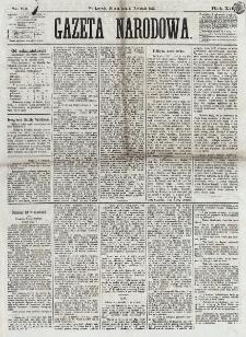 Gazeta Narodowa. R. 12, nr 84 (5 kwietnia 1873)