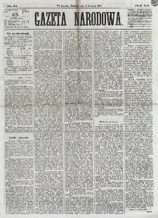 Gazeta Narodowa. R. 12, nr 85 (6 kwietnia 1873)