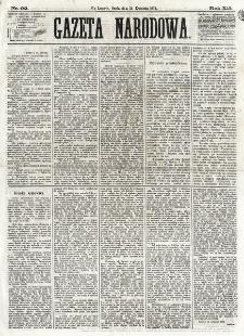 Gazeta Narodowa. R. 12, nr 92 (16 kwietnia 1873)