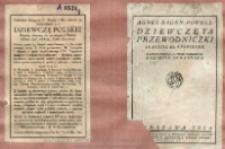 Dziewczęta przewodniczki : skauting dla panienek / Agnes Baden-Powel ; z upoważnienia aut. przeł. Kazimira Skrzyńska.
