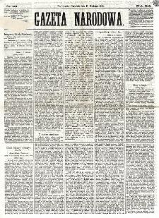 Gazeta Narodowa. R. 12, nr 71 (21 marca 1873)