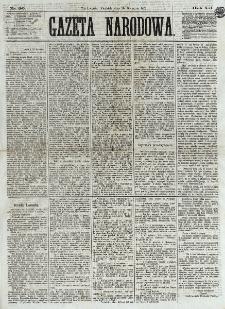 Gazeta Narodowa. R. 12, nr 96 (20 kwietnia 1873)