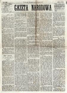 Gazeta Narodowa. R. 12, nr 99 (24 kwietnia 1873).
