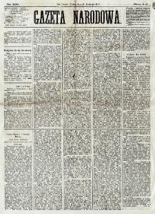 Gazeta Narodowa. R. 12, nr 100 (25 kwietnia 1873)