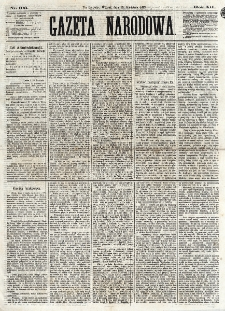 Gazeta Narodowa. R. 12, nr 103 (29 kwietnia 1873)