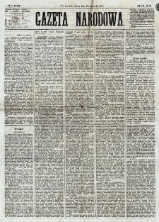 Gazeta Narodowa. R. 12, nr 104 (30 kwietnia 1873)