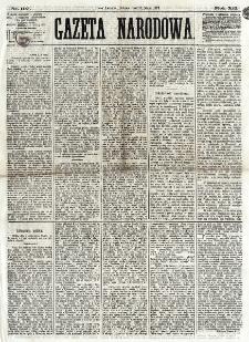 Gazeta Narodowa. R. 12, nr 107 (3 maja 1873)