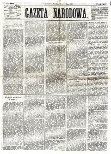 Gazeta Narodowa. R. 12, nr 108 (4 maja 1873)