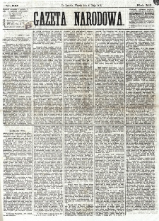 Gazeta Narodowa. R. 12, nr 109 (6 maja 1873)
