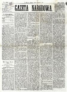 Gazeta Narodowa. R. 12, nr 101 (26 kwietnia 1873)
