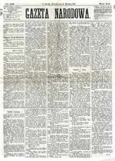Gazeta Narodowa. R. 12, nr 102 (27 kwietnia 1873)