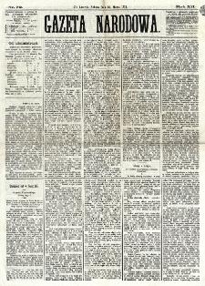 Gazeta Narodowa. R. 12, nr 72 (22 marca 1873)