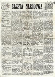 Gazeta Narodowa. R. 12, nr 73 (23 marca 1873)