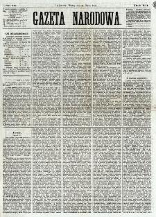 Gazeta Narodowa. R. 12, nr 74 (25 marca 1873)