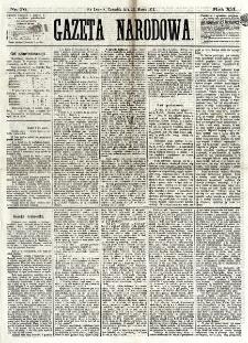 Gazeta Narodowa. R. 12, nr 76 (27 marca 1873)