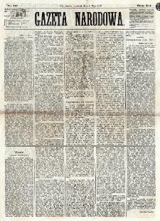 Gazeta Narodowa. R. 12, nr 111 (8 maja 1873)