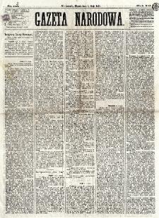 Gazeta Narodowa. R. 12, nr 113[!] (9 maja 1873)