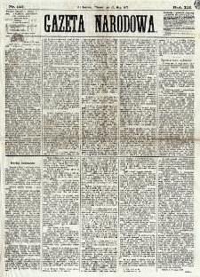 Gazeta Narodowa. R. 12, nr 115 (13 maja 1873)