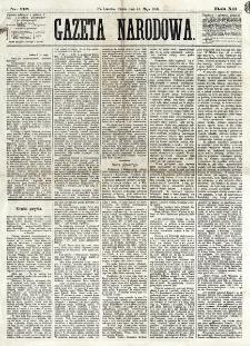 Gazeta Narodowa. R. 12, nr 116 (14 maja 1873)