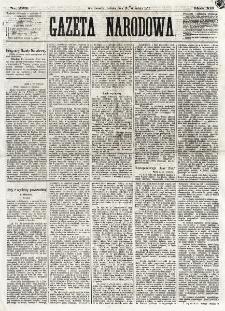 Gazeta Narodowa. R. 12, nr 223 (20 września 1873)