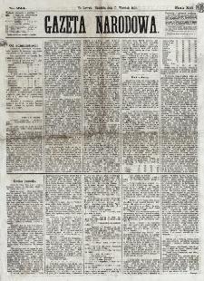Gazeta Narodowa. R. 12, nr 224 (21 września 1873)