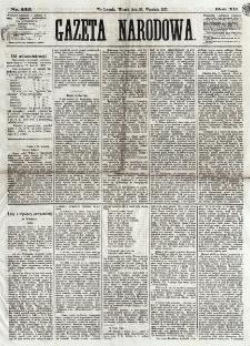 Gazeta Narodowa. R. 12, nr 225 (23 września 1873)