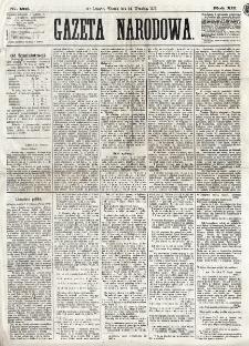 Gazeta Narodowa. R. 12, nr 231 (30 września 1873)