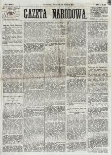 Gazeta Narodowa. R. 12, nr 226 (24 września 1873)