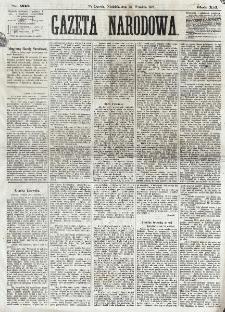 Gazeta Narodowa. R. 12, nr 230 (28 września 1873)
