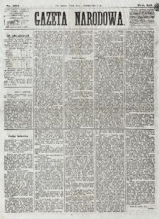 Gazeta Narodowa. R. 12, nr 232 (2 października 1873)