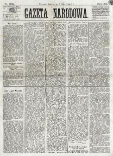 Gazeta Narodowa. R. 12, nr 233 (3 października 1873)