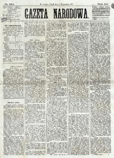Gazeta Narodowa. R. 12, nr 234 (2 października 1873)