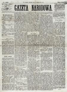 Gazeta Narodowa. R. 12, nr 236 (5 października 1873)