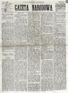 Gazeta Narodowa. R. 12, nr 239 (9 października 1873)