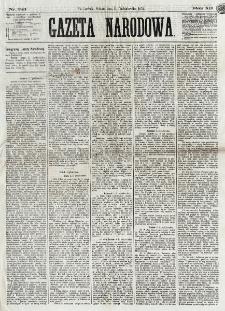 Gazeta Narodowa. R. 12, nr 241 (11 października 1873)