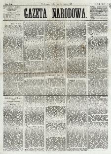 Gazeta Narodowa. R. 12, nr 94 (18 kwietnia 1873)