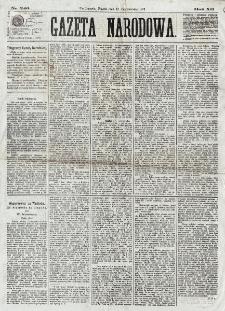 Gazeta Narodowa. R. 12, nr 240 (10 października 1873)