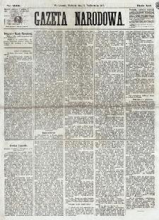 Gazeta Narodowa. R. 12, nr 242 (12 października 1873)
