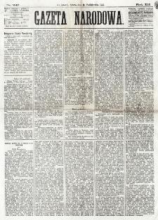 Gazeta Narodowa. R. 12, nr 247 (18 października 1873)