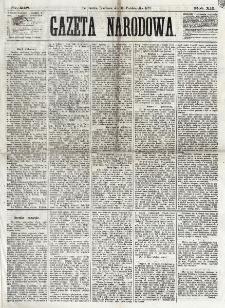 Gazeta Narodowa. R. 12, nr 248 (19 października 1873)