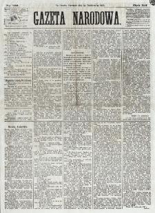 Gazeta Narodowa. R. 12, nr 251 (23 października 1873)