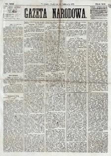 Gazeta Narodowa. R. 12, nr 252 (24 października 1873)