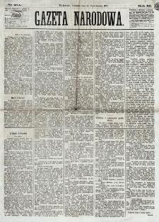 Gazeta Narodowa. R. 12, nr 254 (26 października 1873)