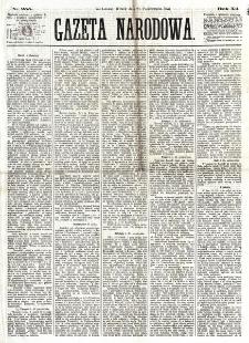 Gazeta Narodowa. R. 12, nr 255 (28 października 1873)
