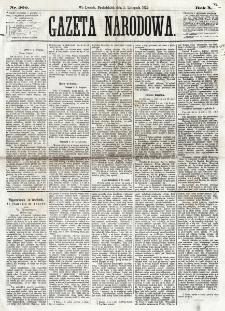 Gazeta Narodowa. R. 12, nr 260 (1 listopada 1873)