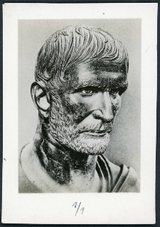 """Bronzowy biust, tzw. """"Brutus"""""""
