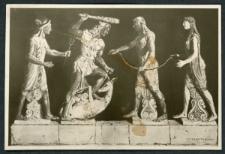Rekonstrukcja terakotowej grupy z Veii