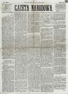 Gazeta Narodowa. R. 12, nr 266 (9 listopada 1873)